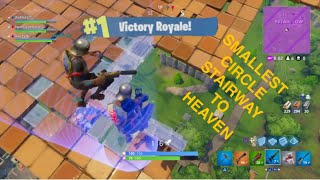WINNING ON A STAIRWAY TO HEAVEN! | FORTNITE GAMEPLAY