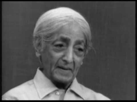 How can one face an incurable disease? | J. Krishnamurti