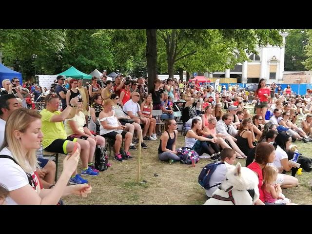 Běhejme a pomáhejme útulkům Praha 2018 Dogfrisbee