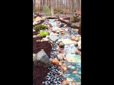 Water Garden Landscaping DIY Waterfall
