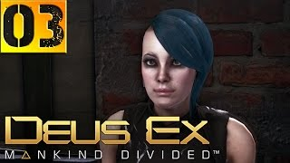 """Deus Ex Mankind Divided Прохождение Часть 3 (Настоящий Deus Ex, Призрак) """"Прага, Драгомир"""""""