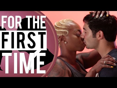 Black Girls Kiss White Guys 'For the First Time'