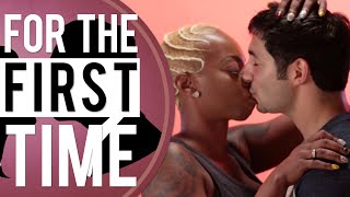 "Black Girls Kiss White Guys ""For the First Time"""
