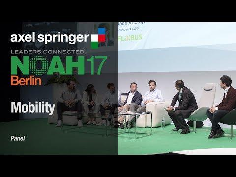 Panel: BlaBlaCar, Drivy, FlixBus, DriveNow, car2go, Gett - NOAH17 Berlin