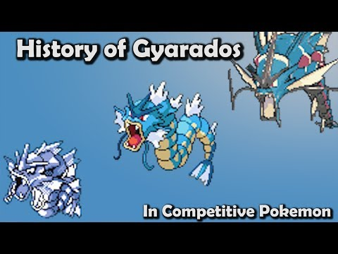 How GOOD was Gyarados ACTUALLY? - History of Gyarados in Competitive Pokemon (Gens 1-6)