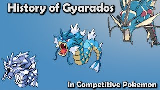 How GOOD was Gyarados ACTUALLY? - History of Gyarados in Competitive Pokemon (Gens 1-6) thumbnail