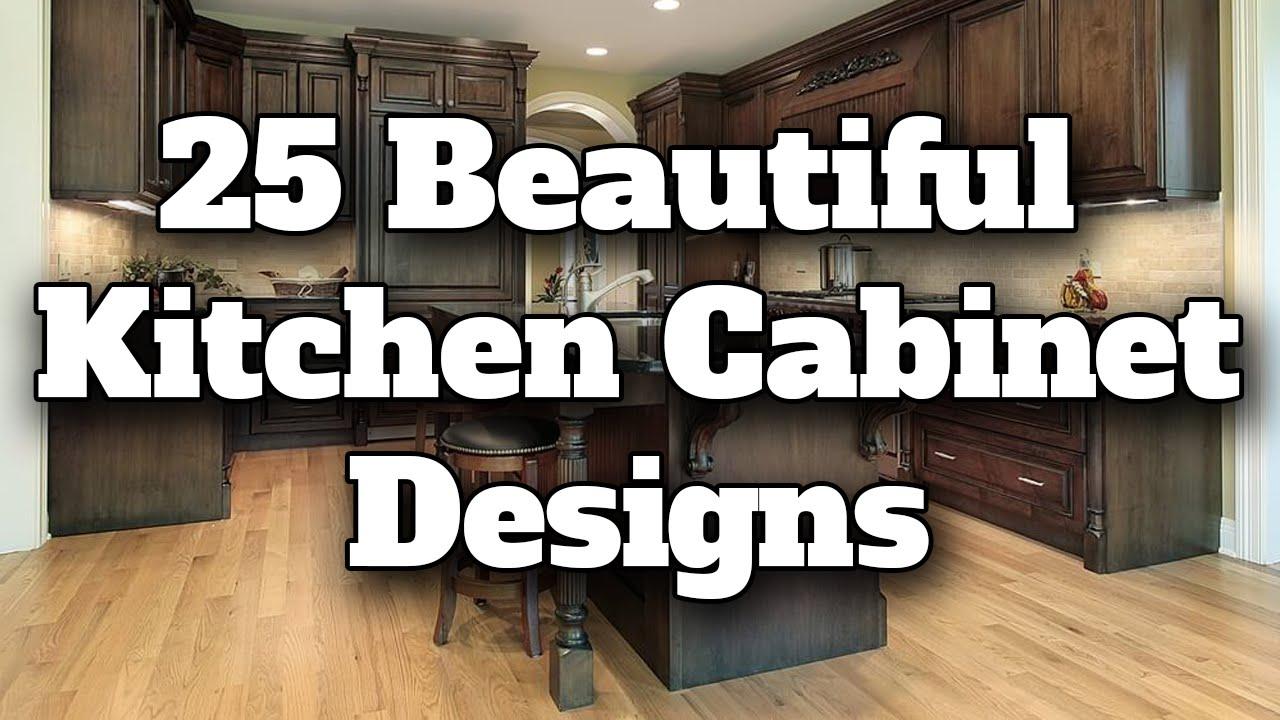 25 Beautiful Kitchen Cabinet Design Ideas