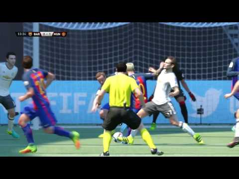 FIFA 17    Barcelona vs Manchester united  FULL GAMEPLAY (PS4/Xbox One)