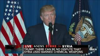 US military launches strike on Syrian air base