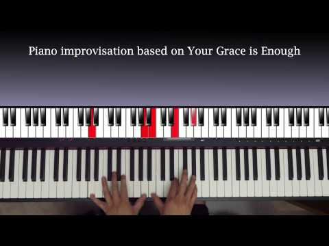 Your Grace Is Enough Keyboard chords by Chris Tomlin - Worship Chords