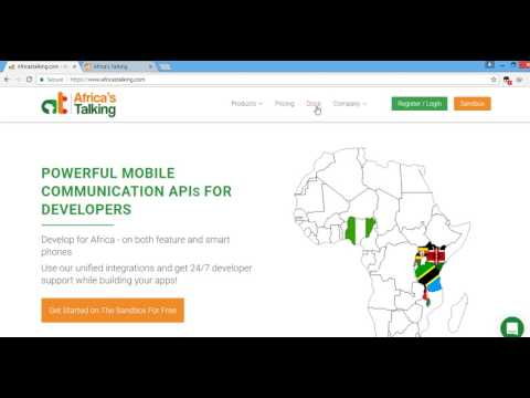 Creating a simple USSD application using Africa's Talking USSD Gateway