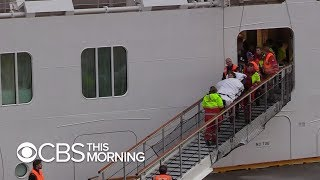 Norwegian cruise passengers airlifted to safety after terrifying ordeal