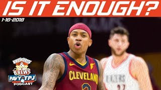 Are Isaiah Thomas & Cavs Bench to Blame? | Hoops & BRews