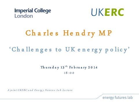 Challenges for UK energy policy