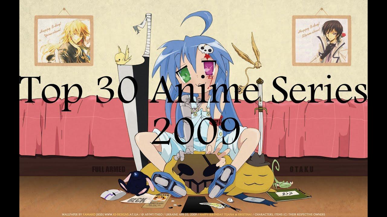 Top 30 anime series 2009