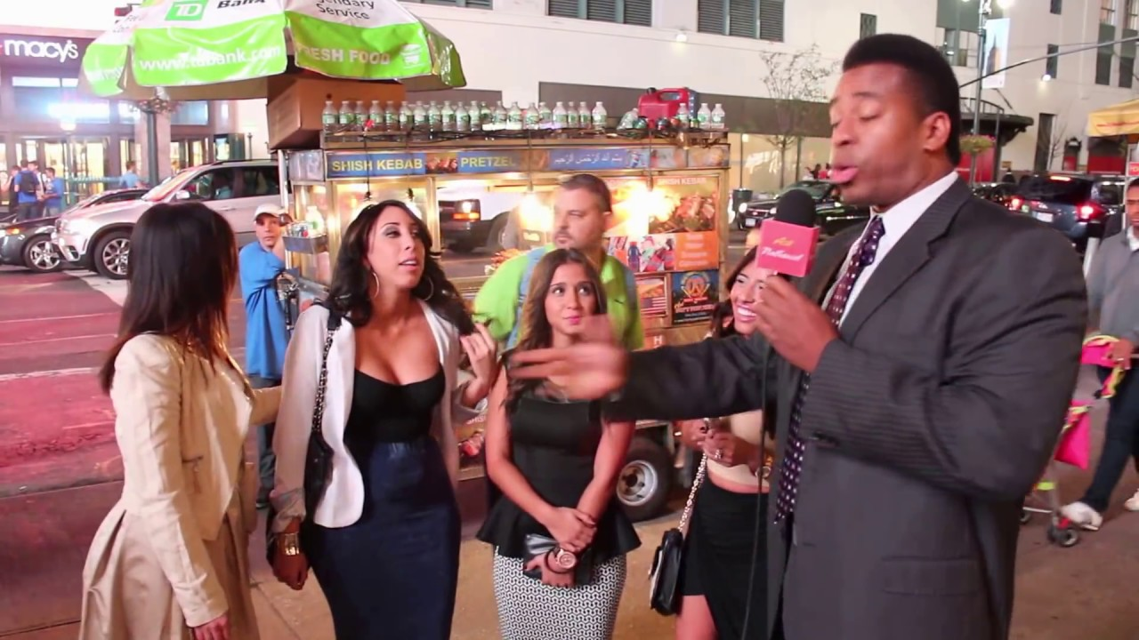 men shows honor to latina women in new york city! - youtube