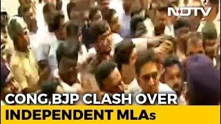 Prohibitory Orders In Bengaluru For 48 Hours Over Karnataka Trust Vote