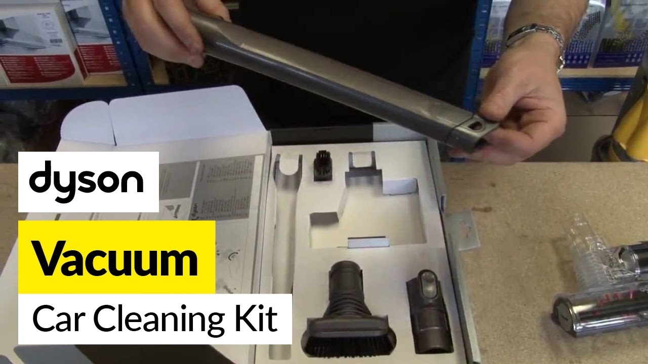 Car Wash Vacuum Cleaner >> Dyson Car Cleaning Kit - YouTube
