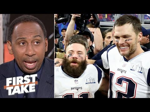 Julian Edelman's injury is concerning since he's Tom Brady's X-factor - Stephen A. | First Take