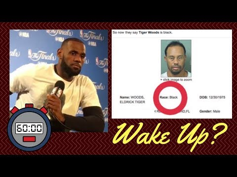 "MWB: Did Lebron James & Tiger Woods Get a ""Ni99er Wake Up Call""?"