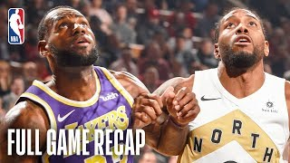 LAKERS vs RAPTORS | LeBron James & Kawhi Leonard Battle In Toronto | March 14, 2019