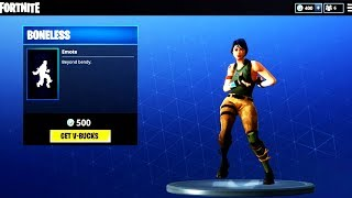 NEW EMOTE BONELESS & RAVEN SKIN ! Fortnite ITEM SHOP May 5! NEW Featured items and Daily items!