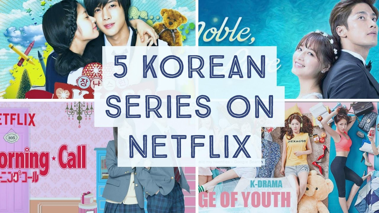 Top 5 Korean/Asian Romantic Series on Netflix (India)!