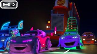 Arabalar  Şimşek McQueen Kayboluyor   HD