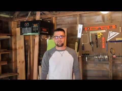 Wen 3-speed Wood shop Air Filter review!!