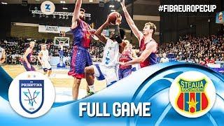 Z Mobile Prishtina v Steaua Bucuresti - Full Game - FIBA Europe Cup 2019