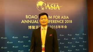 云聯惠董事長黃明出席2018年亞洲博鰲論壇年會現場採訪 thumbnail