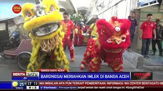 Warga Aceh Antusias Melihat Atraksi Barongsai