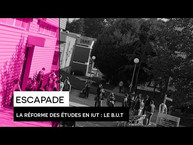 [ESCAPADE] : #5 - La réforme des études en IUT : Le Bachelor Universitaire de Technologie (B.U.T.)