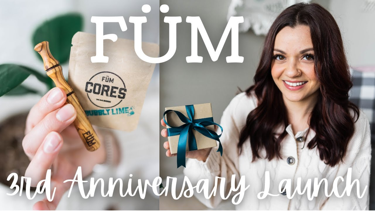 Download FUM 3RD ANNIVERSARY LAUNCH REVEAL    UNBOXING BRAND NEW FUM & CORES    ESSENTIAL OIL INHALER   
