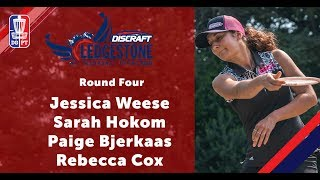 Round Four 2018 Ledgestone Open - FPO | Weese, Hokom, Bjerkaas, & Cox