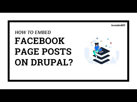 How To Embed Facebook Page Feed on Drupal?