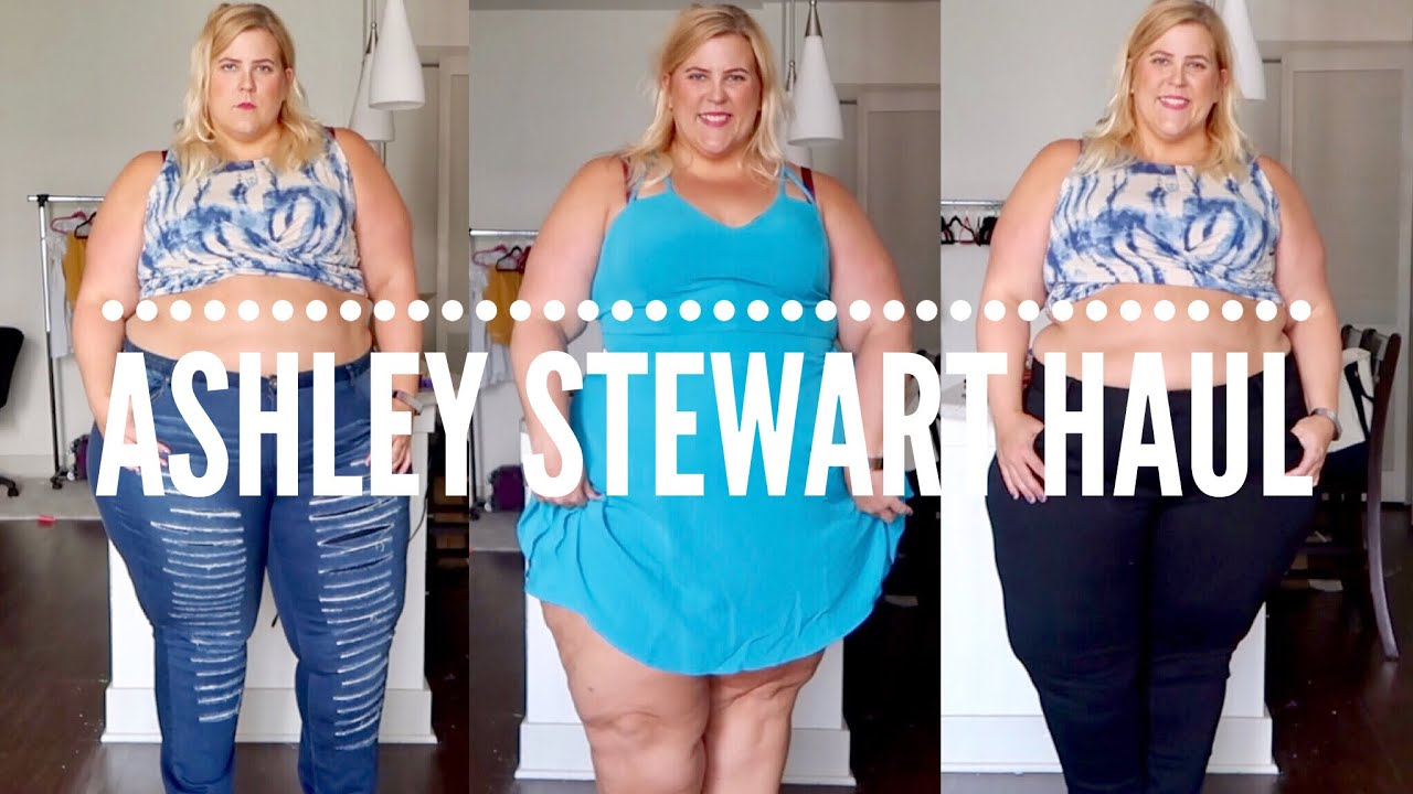 b000219bd82ef Ashley Stewart Plus Size Haul + Try On (Denim