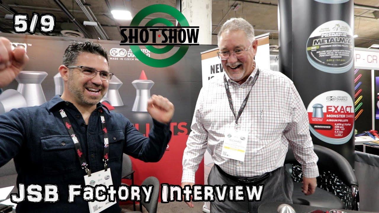 Repeat JSB/Predator and NEW Hades Pellet - SHOT Show 2019 by Airgun