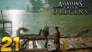 Assassin's Creed Origins. Прохождение. Часть 21 (Весы Крокодила)