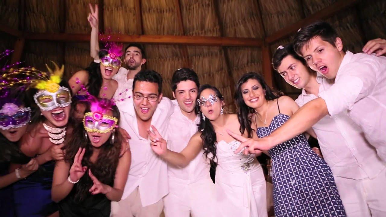 Matrimonio Simbolico En Santa Marta : Video boda luisa steven en santamarta desde la playa del