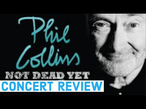 Phil Collins - 'Not Dead Yet' Australian Concert Tour