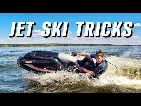 Трюки на Стоячем Гидроцикле YAMAHA SUPER JET 700 | Freestyle/stunts/tricks | Sea-Doo Gopro Стоячка