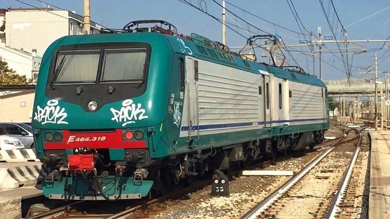 Una Grandissima Vagonata di Treni alla Stazione di Falconara Marittima, il  07/08/2018!