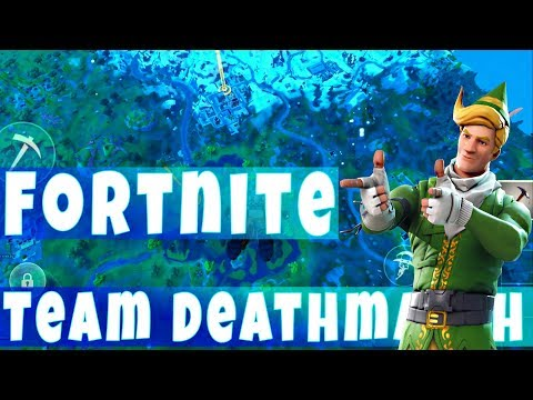 23 Kills In Fortnite Team Deathmatch Mode! Playing On Mobile