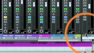 Cubase 6 106: FX EQ Automation and Mixing - 23 The Master Fader Clip Light