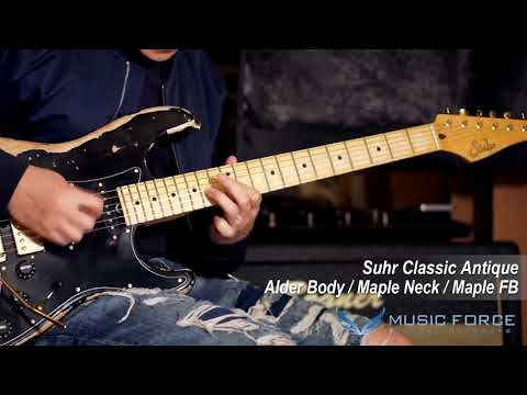 [MusicForce] Suhr Classic Antique SSH Demo