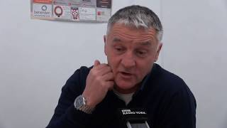 Dave Penney pre-match interview (Gainsborough Trinity)