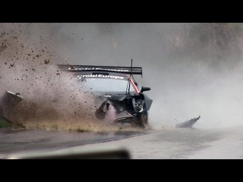Course de Côte Bagnols Sabran 2017 Big Crash Lamborghini Gallardo