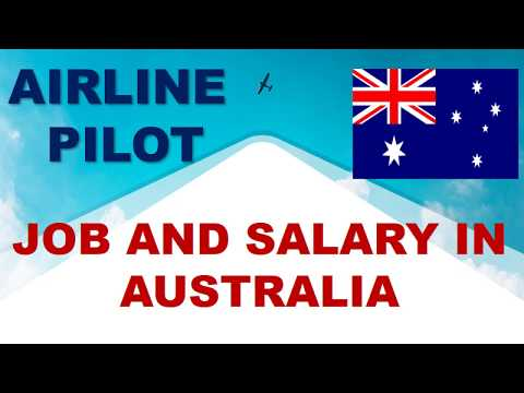 Airline Pilot Job And Salary In Australia - Jobs And Wages In Australia