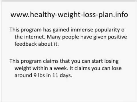 Part 1 of How to lose weight fast in 10 days
